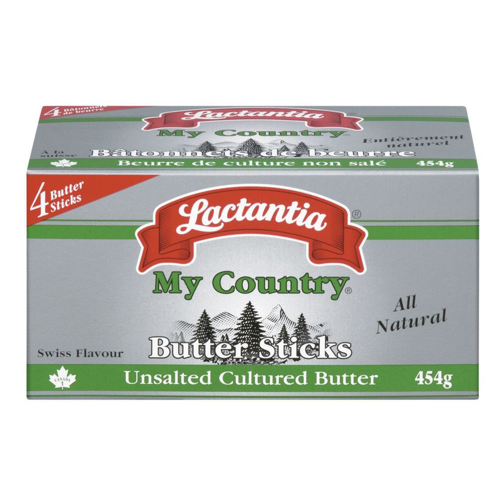 My Country Butter Sticks, Unsalted