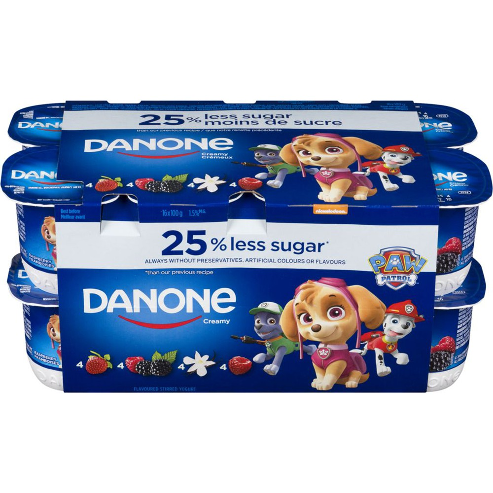 Paw Patrol Flavoured Stirred Yogurt Creamy 1.5% M.F.