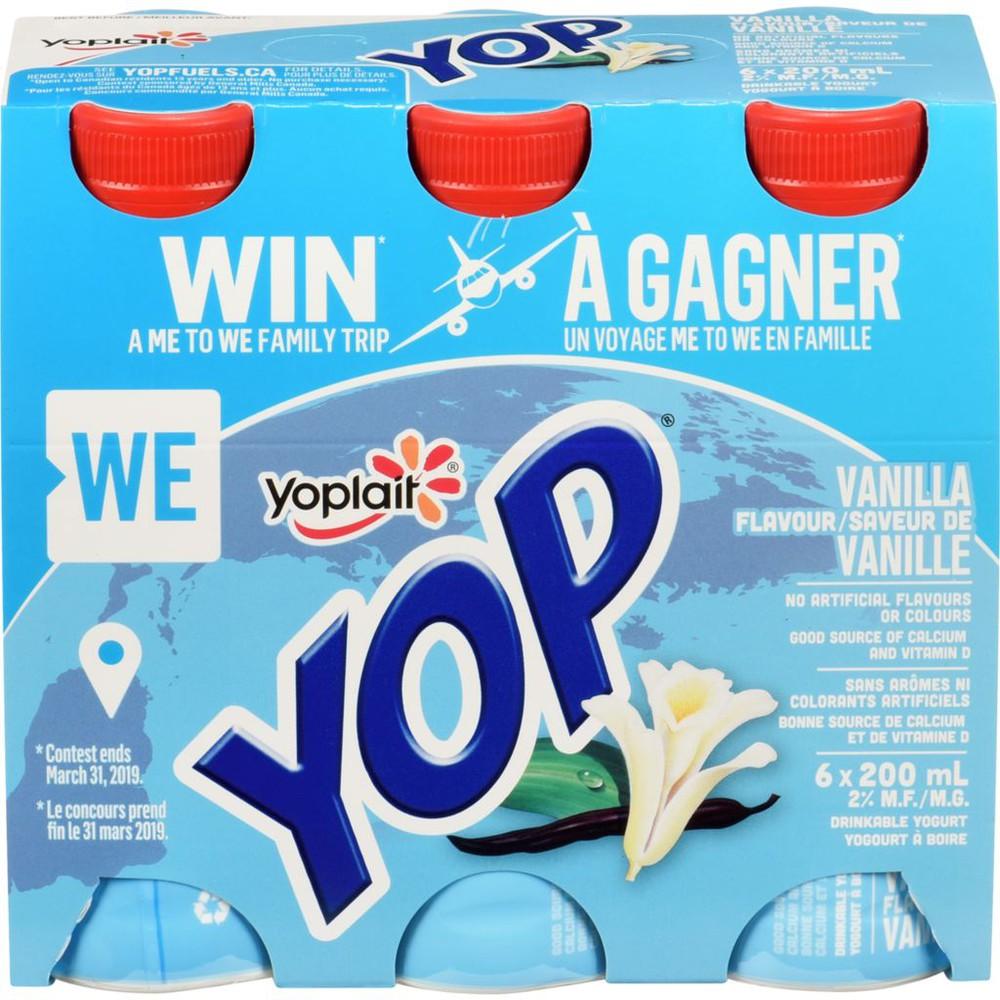 Yop yogurt drink vanilla