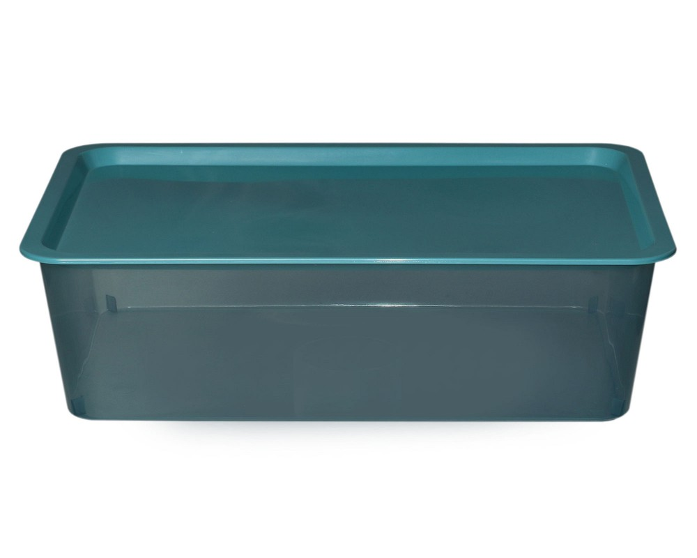 Caja plástica promocional turquoise 2.2