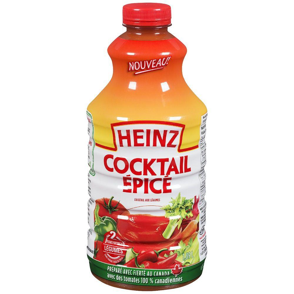 Tomato juice, spicy cocktail