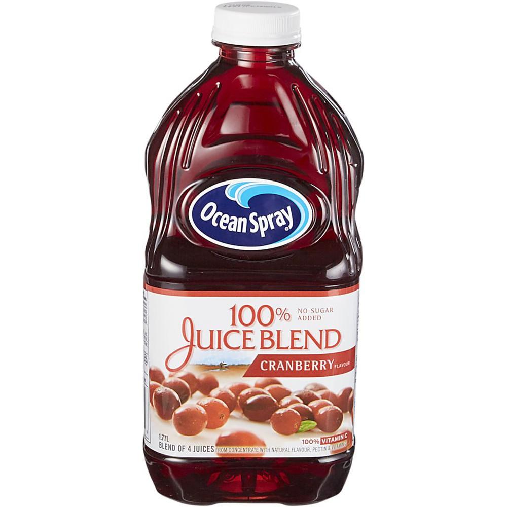Cranberry juice blend 100%