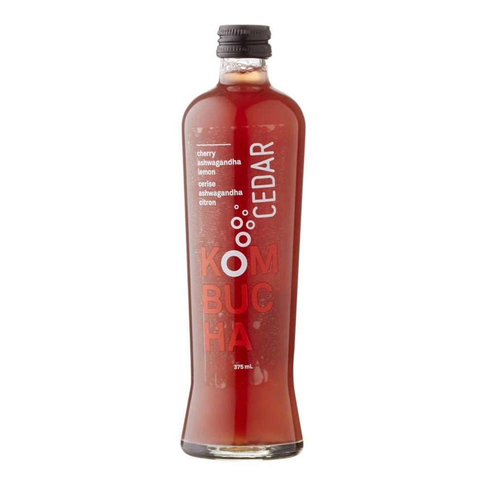 Organic Kombucha, Cherry Lemon
