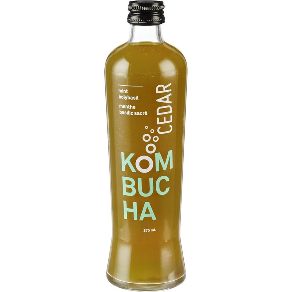 Organic Kombucha, Mint Holybasil