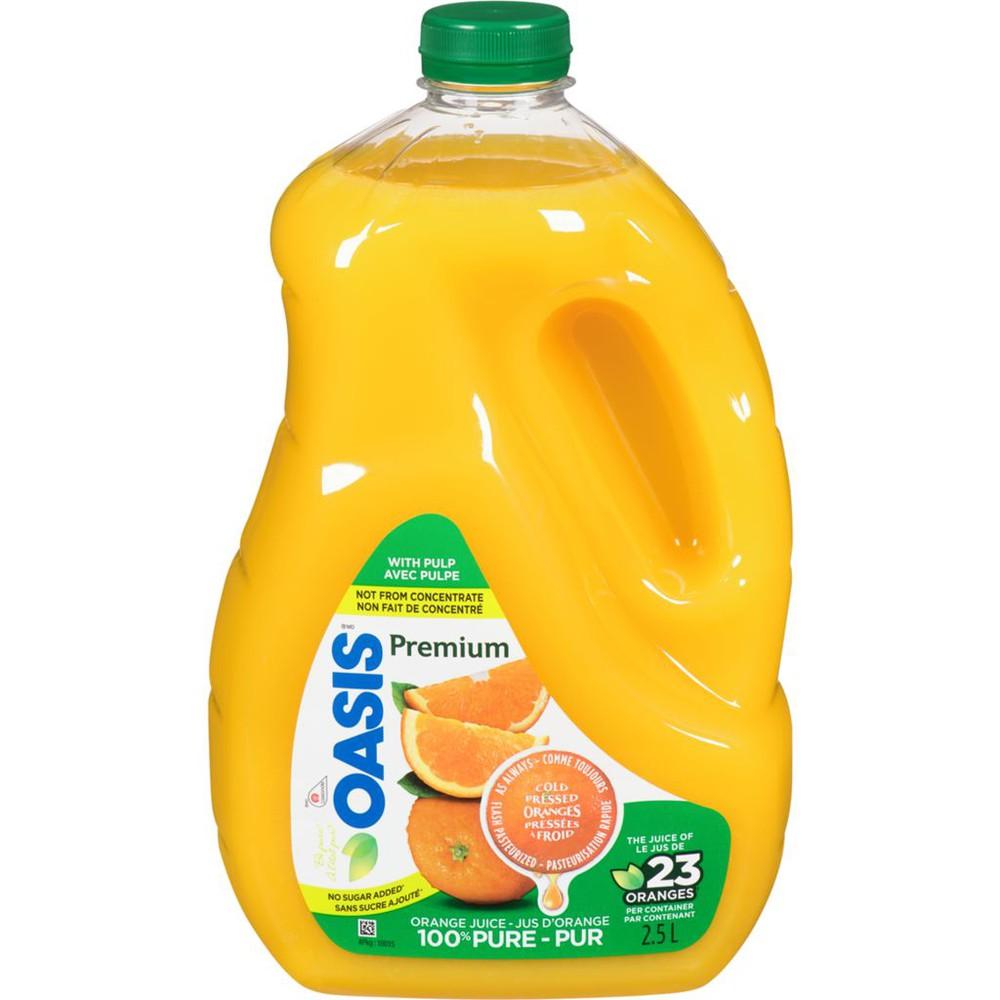 Premium Orange Juice With Pulp