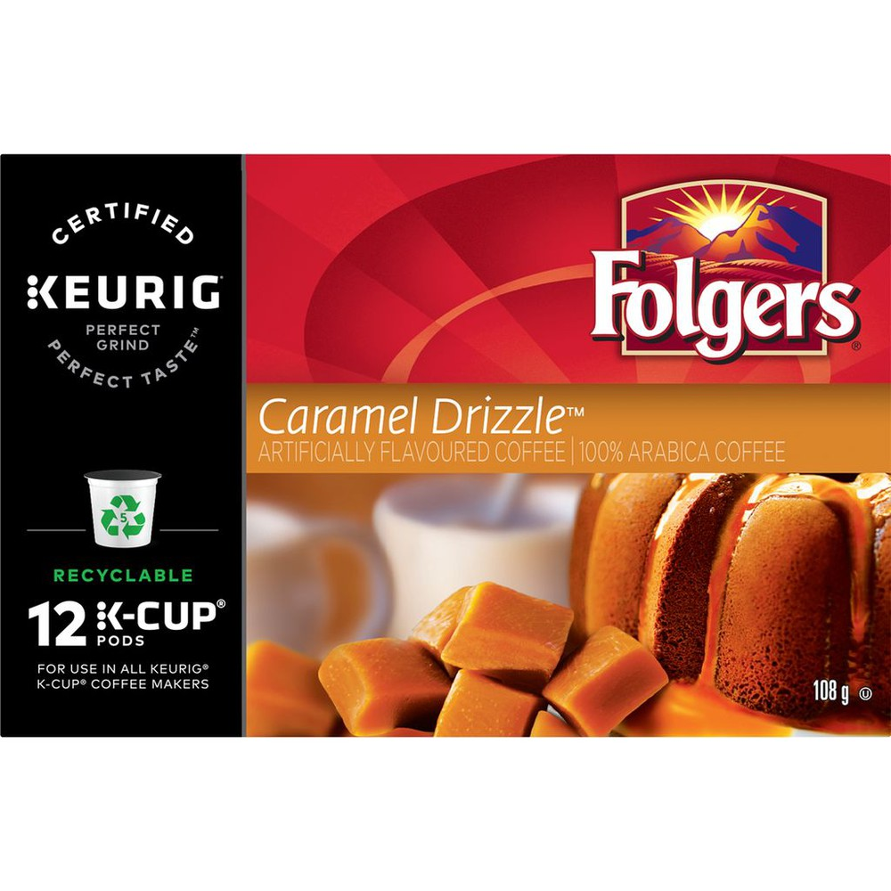 Caramel Drizzle K-Cup Coffee Pods