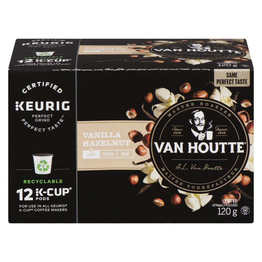 Van Houtte Vanilla Hazelnut Coffee Light Roast