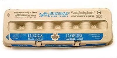 White eggs L