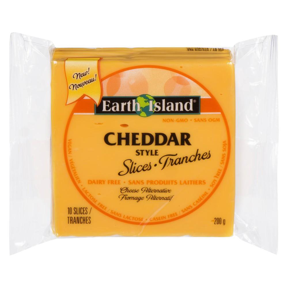Earth Island Cheddar Slices