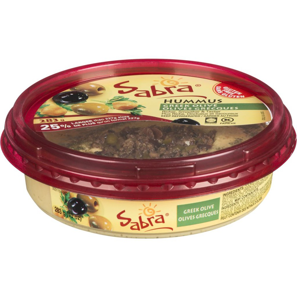 Olive Tapenade Hummus