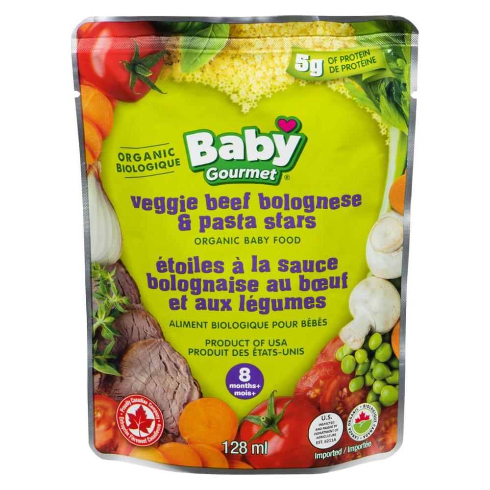 8 Months+, Veggie Beef Bolognese & Pasta Stars