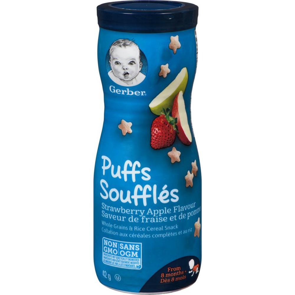 PUFFS, Strawberry Apple, Baby Snacks