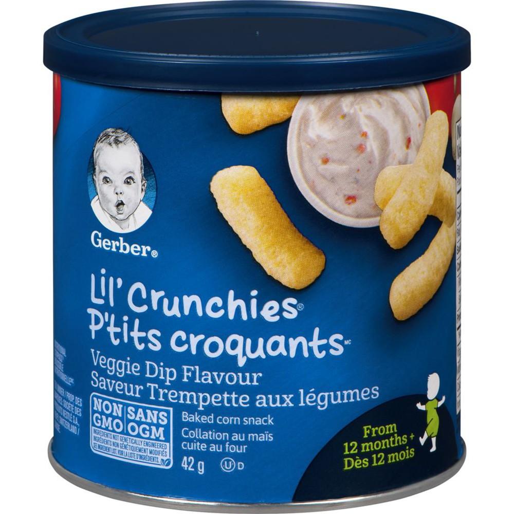 LIL' CRUNCHIES, Veggie Dip, Toddler Snacks
