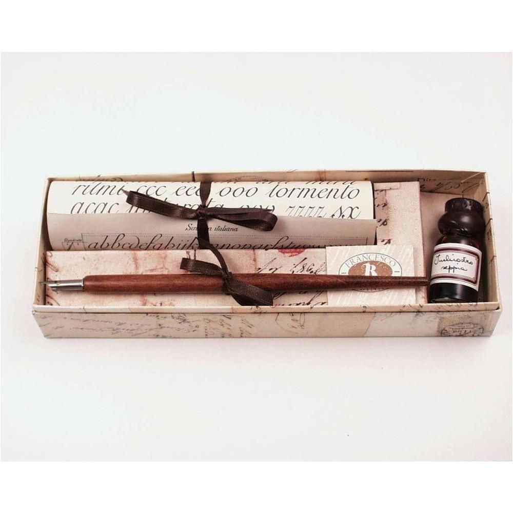 Caja regalo caligrafía pluma más tinta