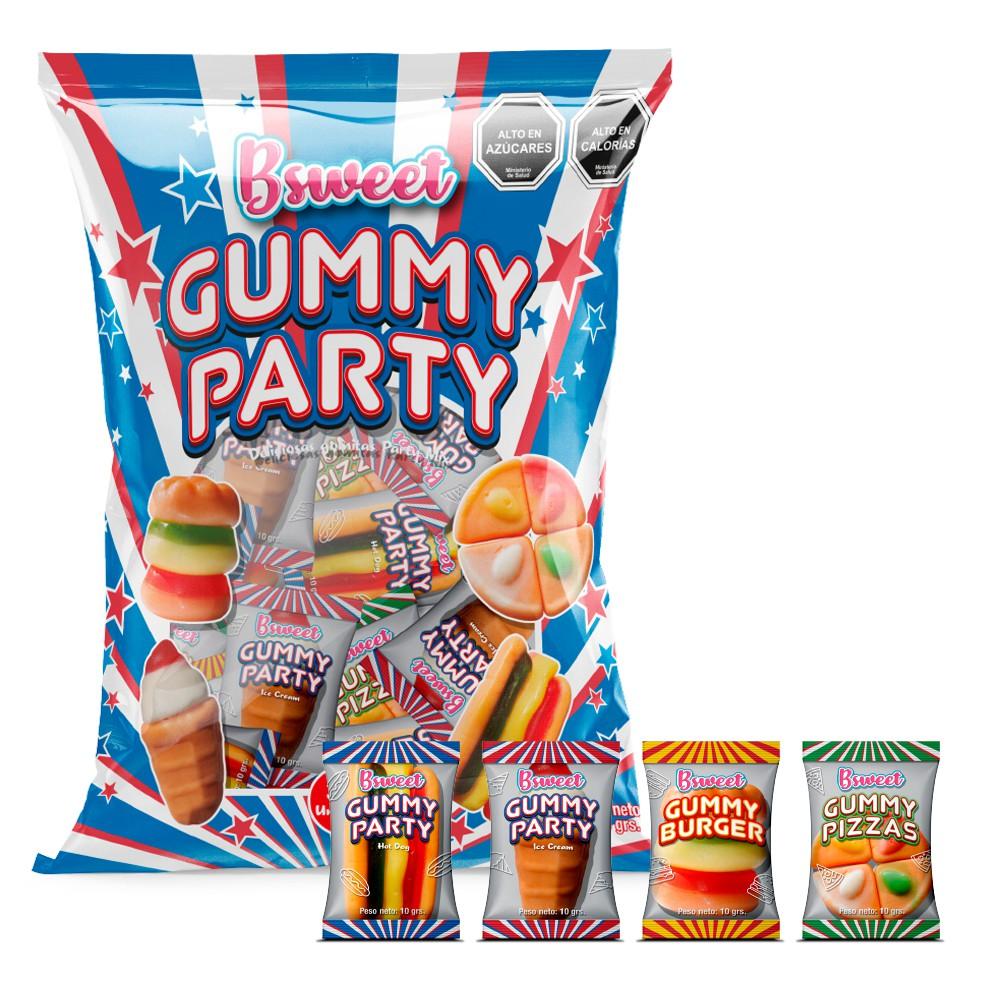 Gummy party mix