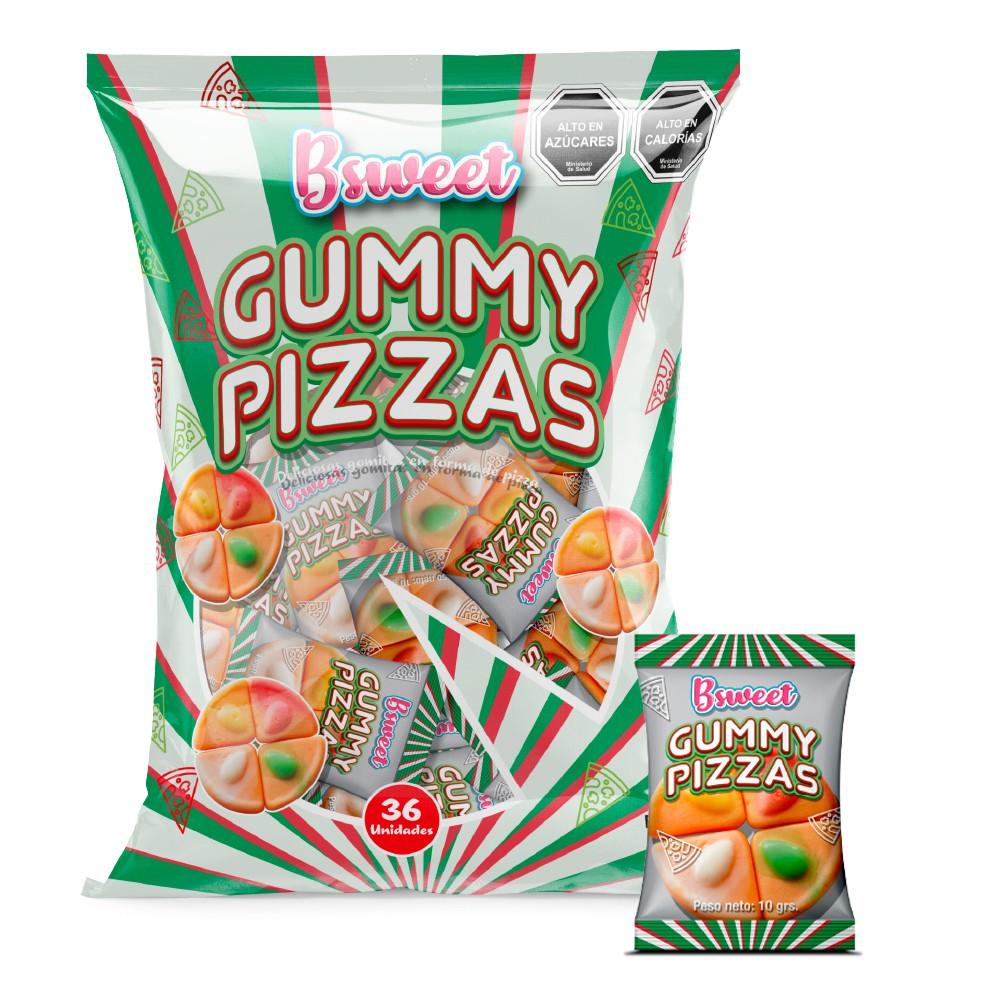 Gummy pizzas