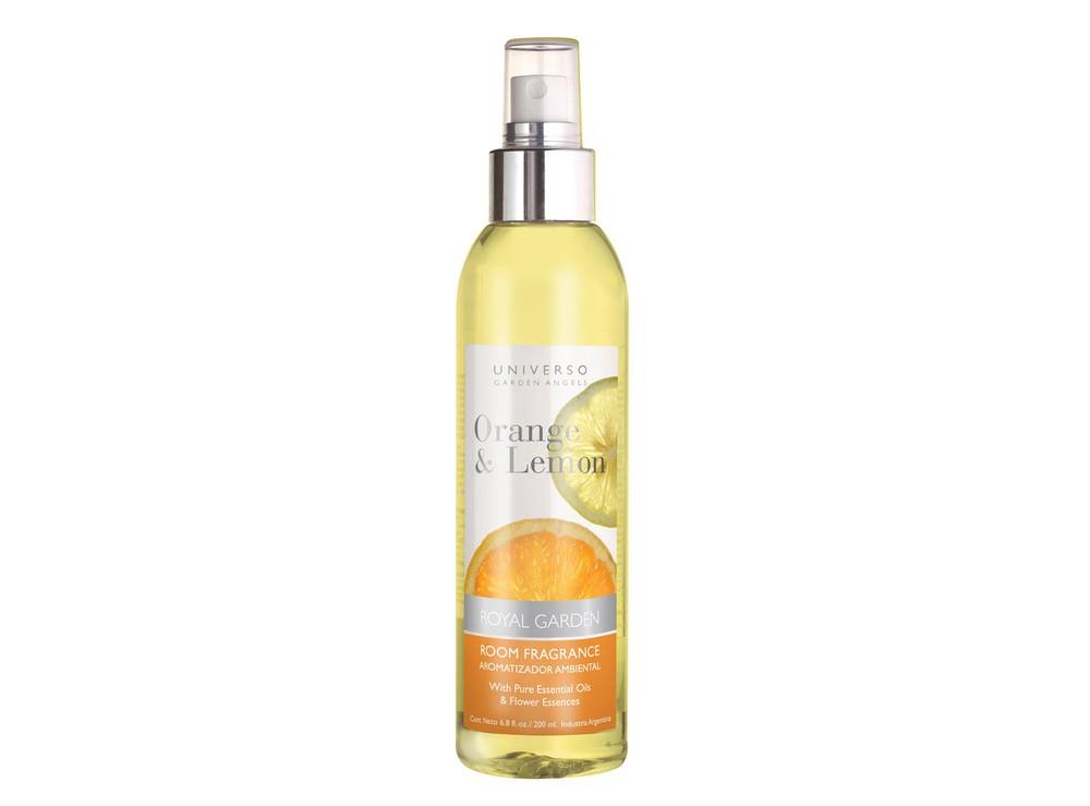 Aromatizador ambiental naranja y limón 200 ml