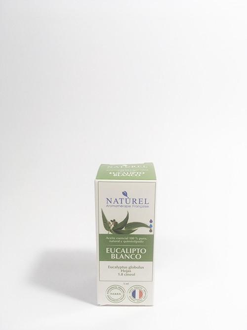 Aceite esencial eucalipto blanco Frasco gotario 5 ml.