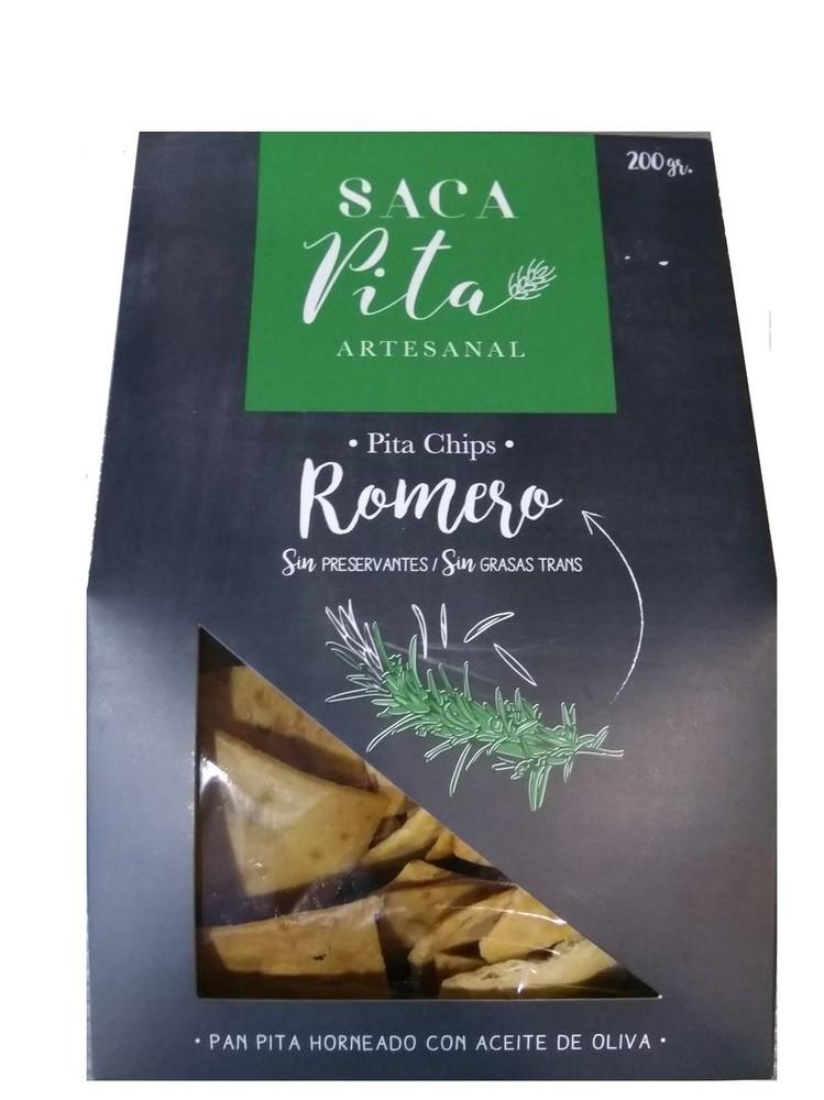 Pita chips sabor romero