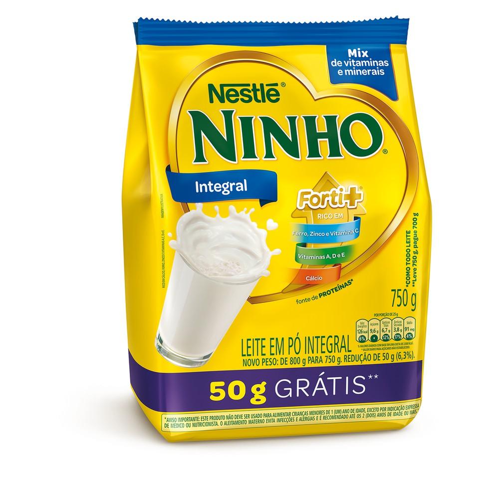 Leite em pó integral Ninho Forti+