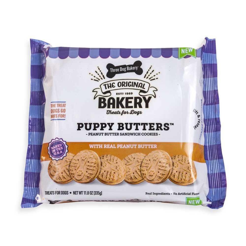 Puppy Butters peanut butter cookies for dogs