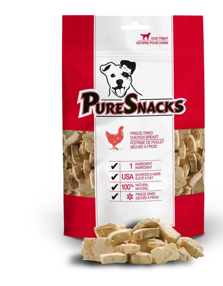 Freeze dried chicken breast dog treats