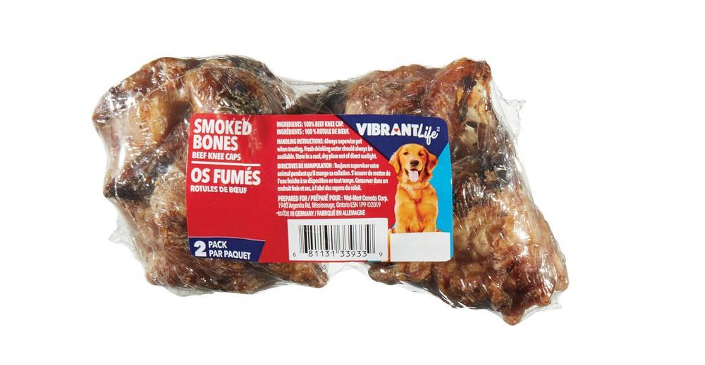 Smoked bones beef knee cap
