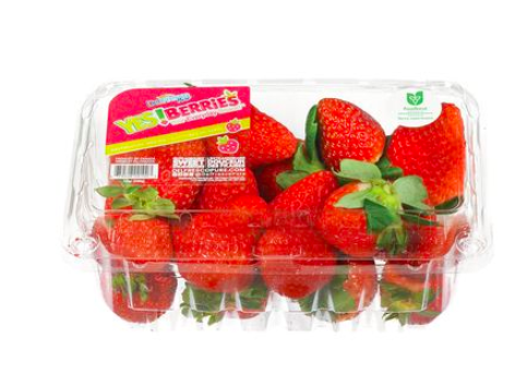 Greenhouse grown Ontario strawberries