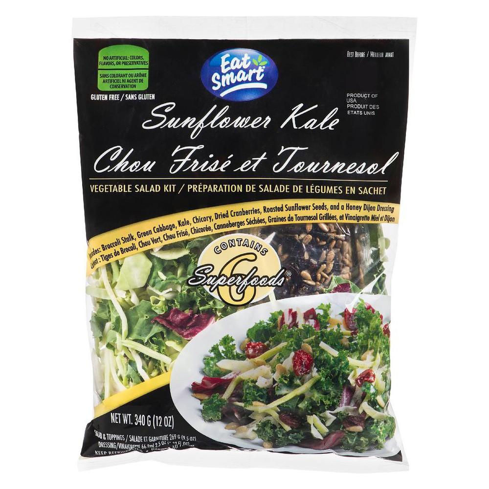 Sunflower Kale Vegetable Salad Kit