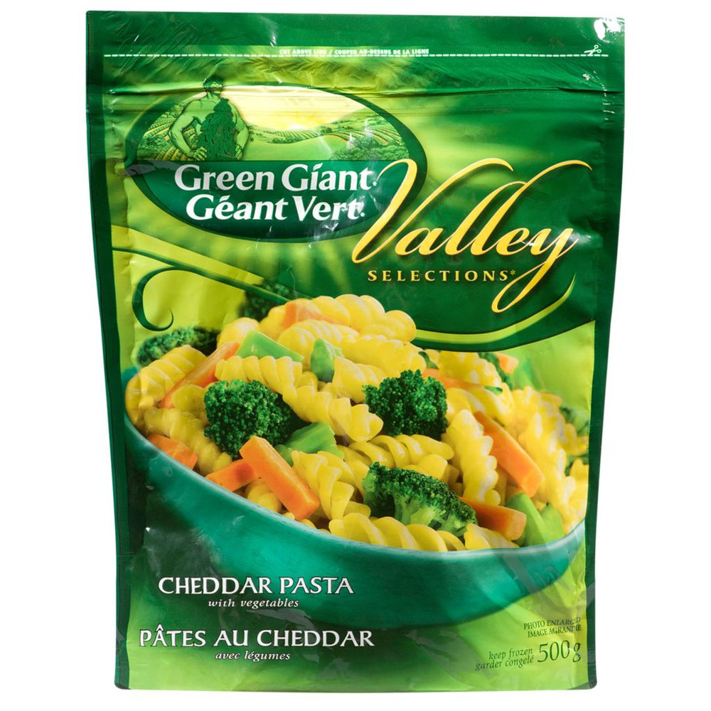Valley Selections Cheddar Pasta With Vegetables