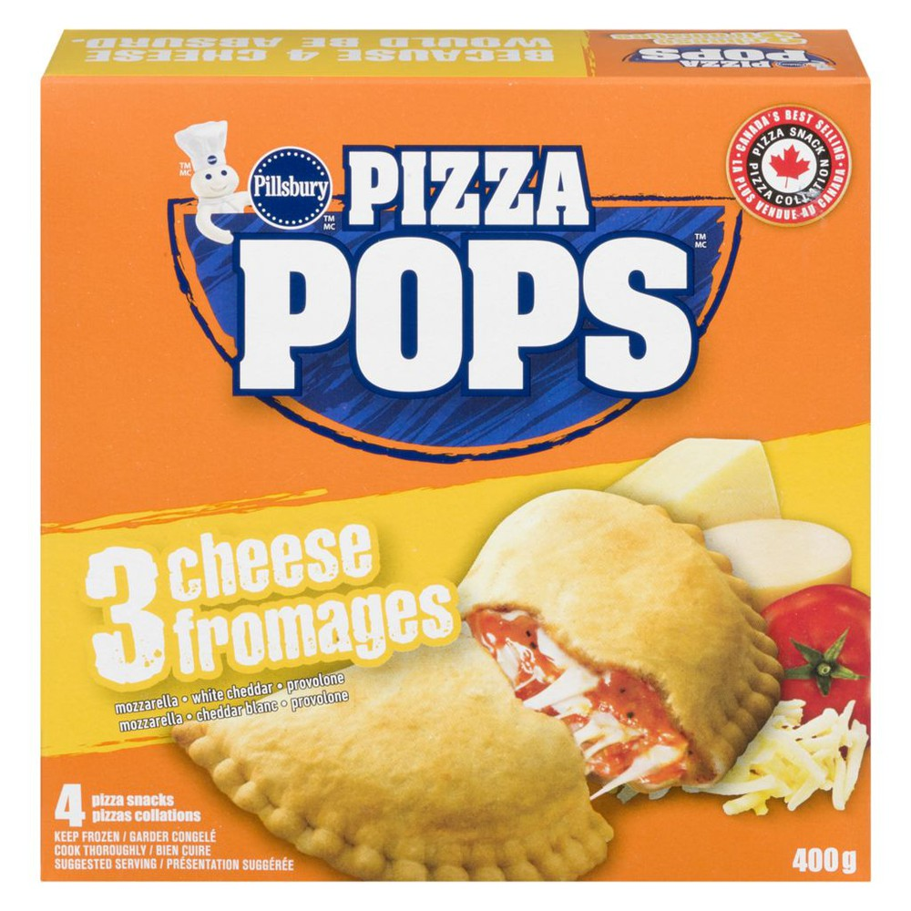 Pizza Pops, Three Cheese