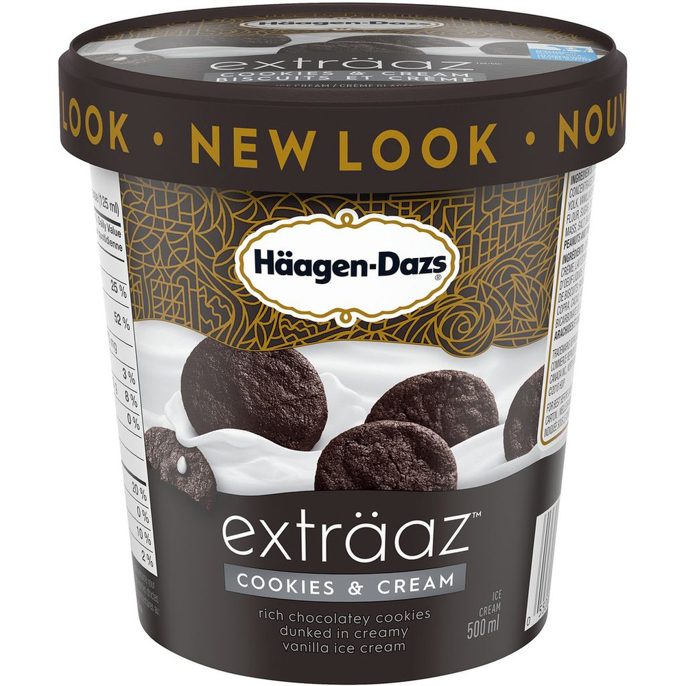 exträaz Cookies & Cream Ice Cream