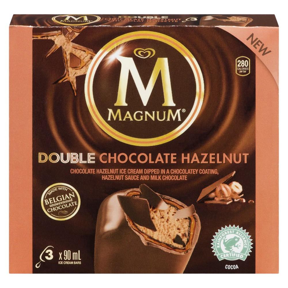 Ice Cream Bar, Double Chocolate Hazelnut