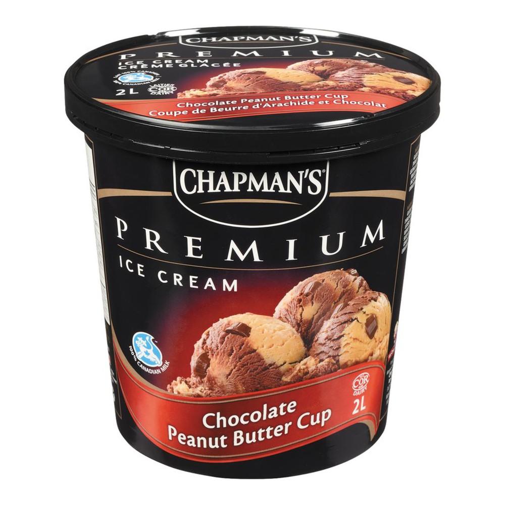 Premium Ice Cream, Chocolate Peanut Butter Cup