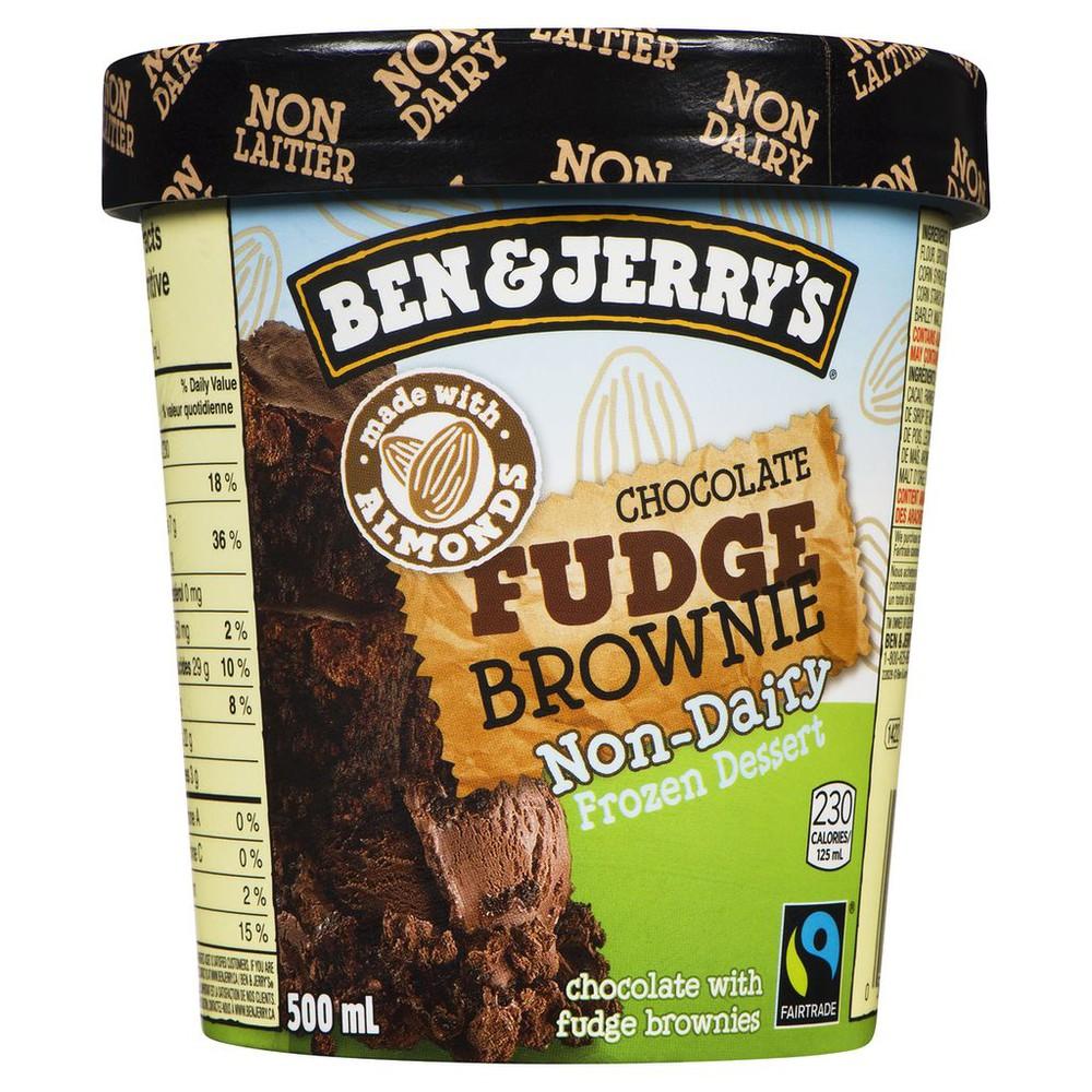 Ice Cream, Chocolate Fudge Brownie