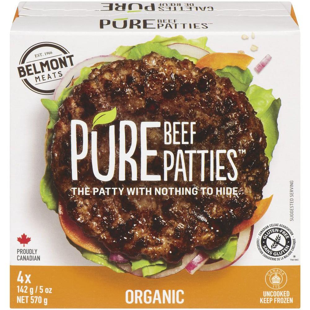 Organic Beef Burger