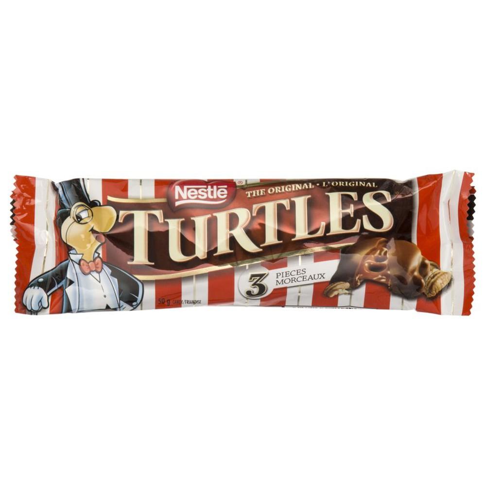 Turtles chocolate bar