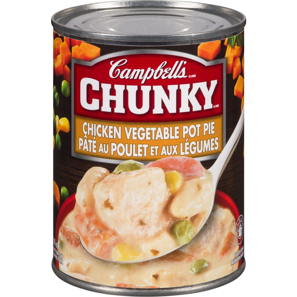 Chunky, Chicken Vegetable Pot Pie