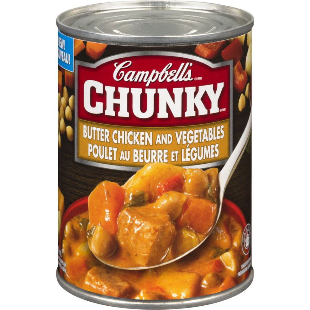 Chunky Ready to Serve Soup Butter Chicken and Vegetables
