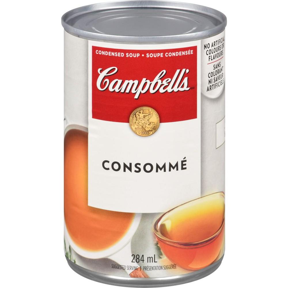 Broth, Consommé