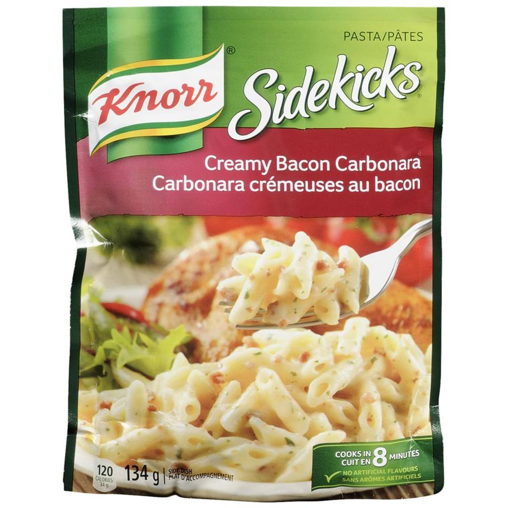 Sidekicks Creamy Bacon Carbonara Pasta Side Dish