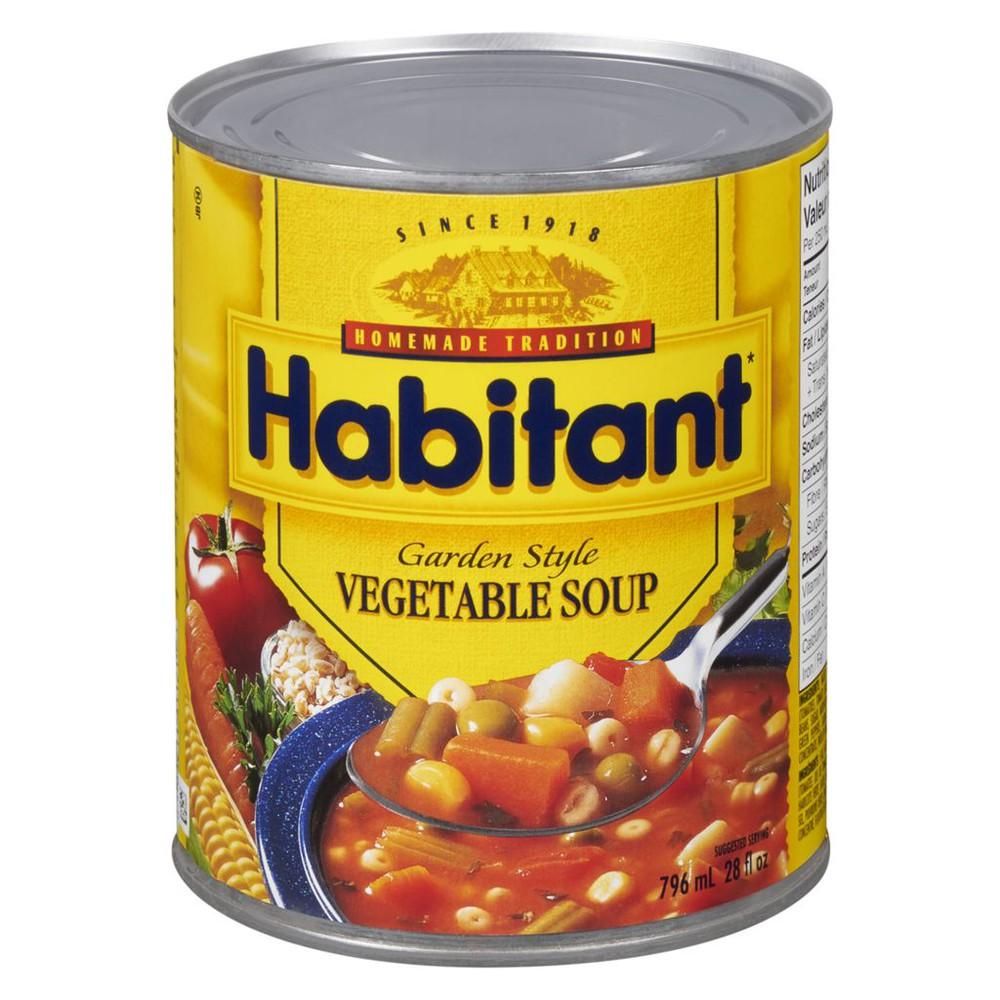 Garden style vegetable soup