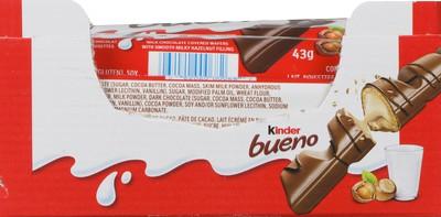 Bueno milk chocolate wafers