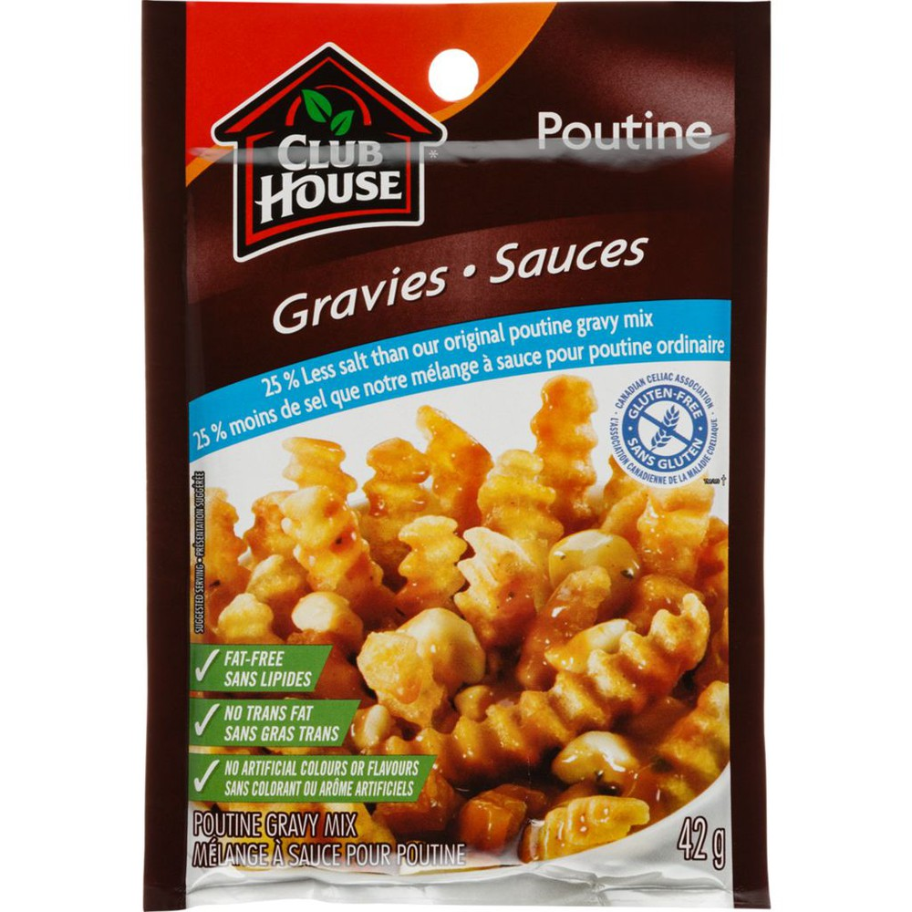 Poutine Gravy, 25% Less Sodium
