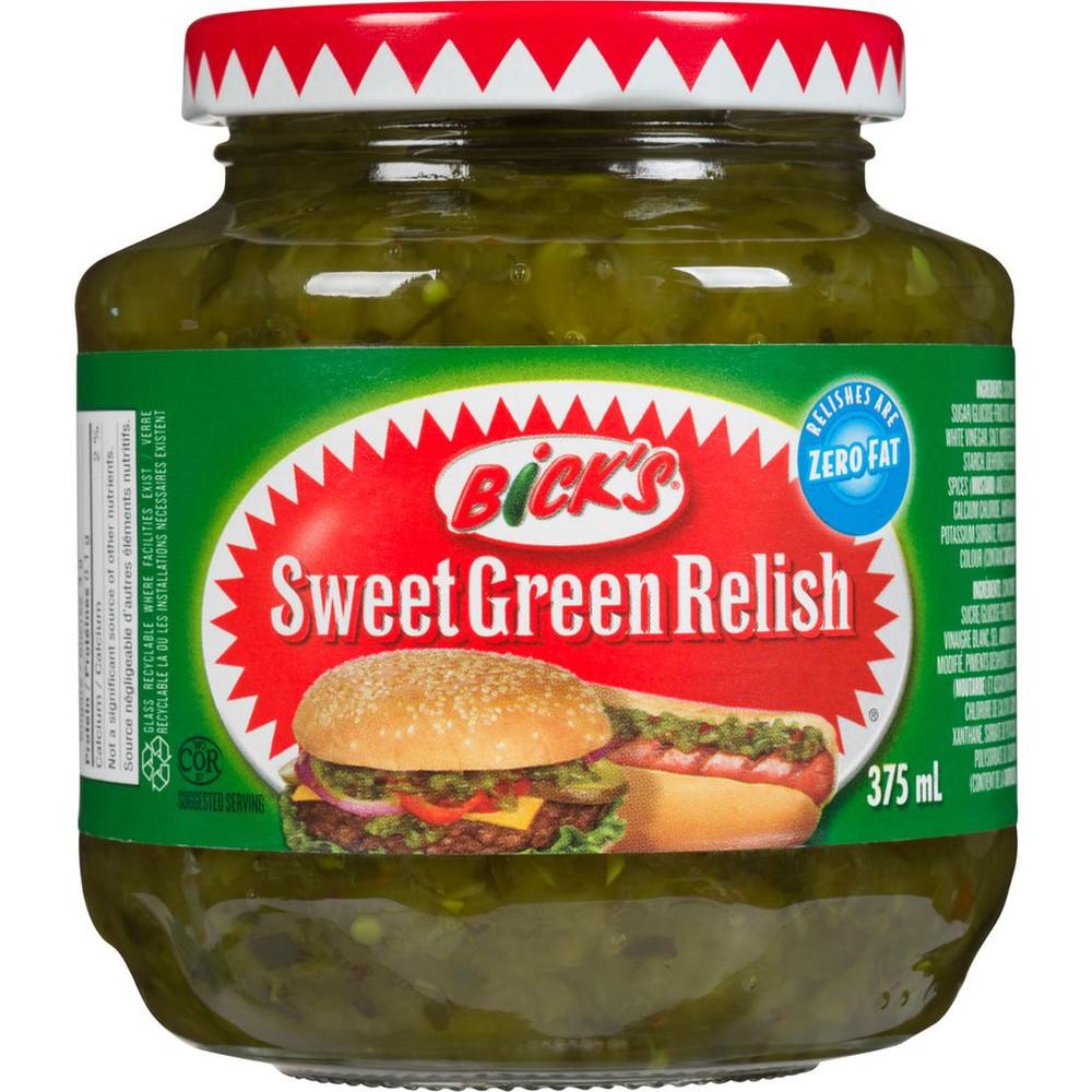 Sweet green relish