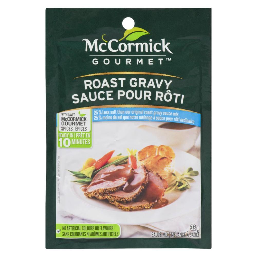 International Roast Gravy Sauce Mix, 25% Less Salt