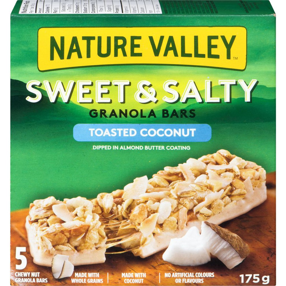 Sweet & salty chewy bar toasted coconut