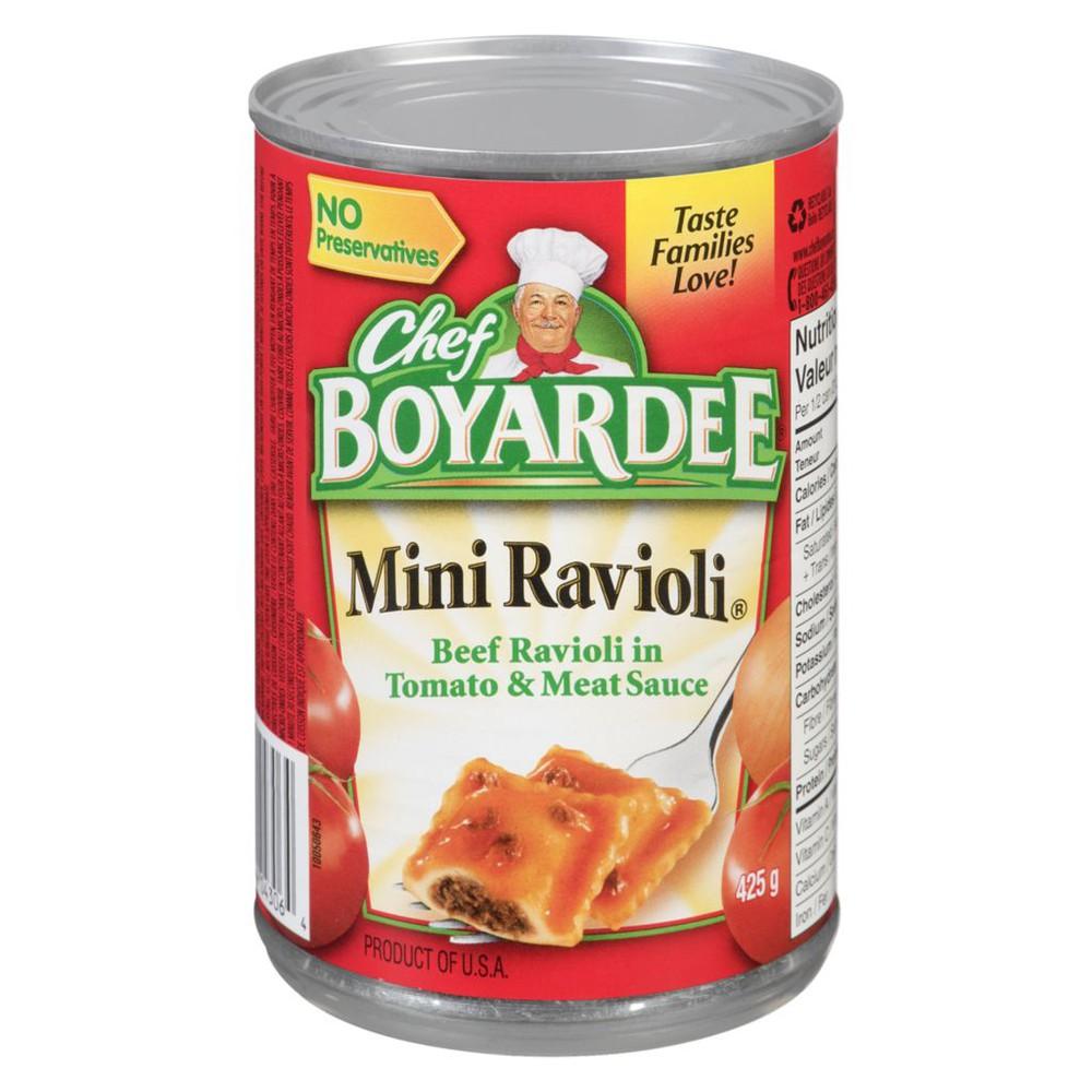 Mini, Beef Ravioli