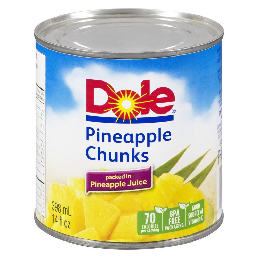 Pineapple Chunks in Pineapple Juice