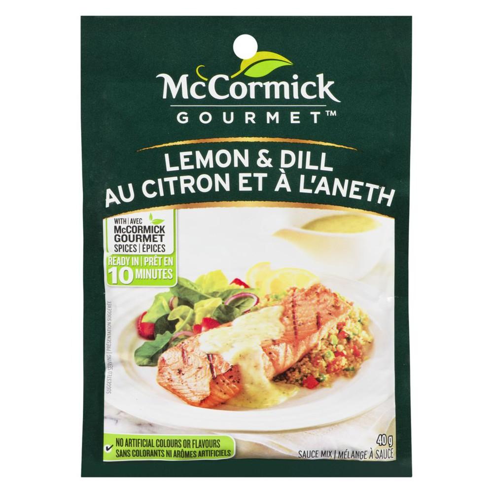 International Sauce Mix, Lemon & Dill